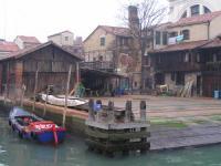 Gondola a Venezia , Cantiere
