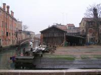 Zattere , Squero di Venezia